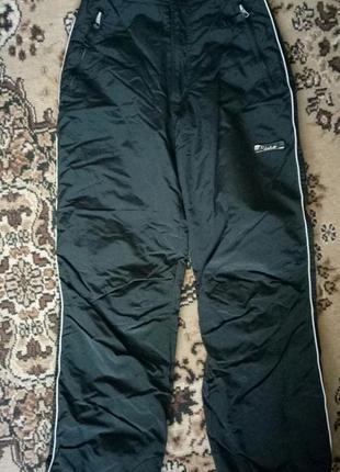 Теплые штаны лыжные сноубордские зимние унисекс
