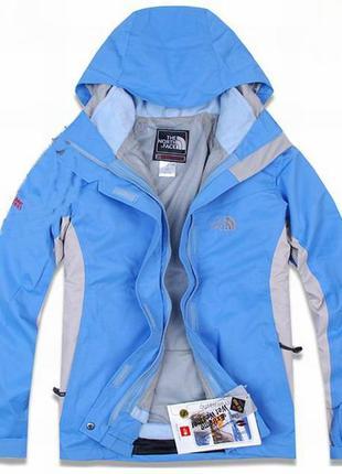 Суперская оригинальная двойная спортивная лыжная куртка парка