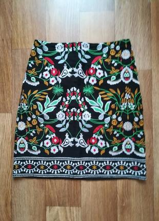 Яркая юбка incity