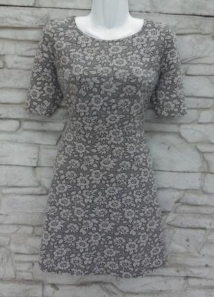 Распродажа!!! красивое, трикотажное платье в принт