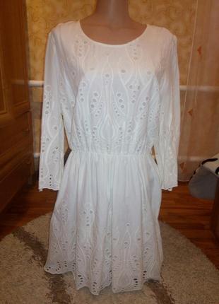 Натуральное красивое платье