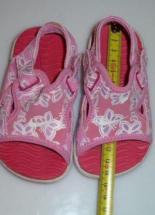 Nike аквашузы, босоножки р 21, сделаны 13,8 см сделаны в тайланде