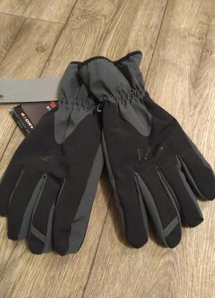 Мужские зимние термо перчатки. германия. софтшелл р. м