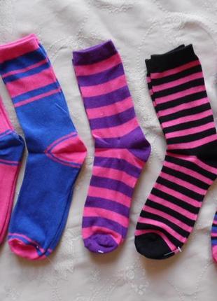 Носки женские (5 пар) , новые primark essentials, размер 37-41.
