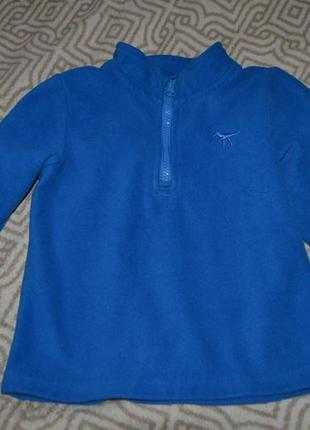 Флиска флисовый свитер nutmeg на 2-3 года рост 92-98 англия