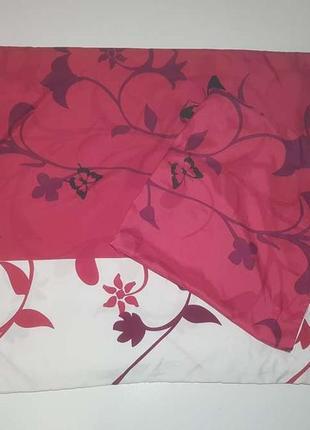Комплект постельного белья (пододеяльник и наволочка) india, в хорошем состоянии
