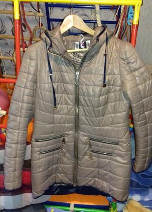 Зимняя куртка на тинсулейте размер 48