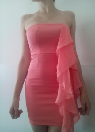Новое платье-бюстье bershka