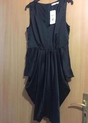 Шикарное атласное платье vera&lucy