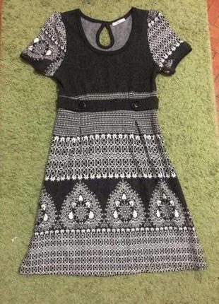 Красивое теплое платье lavand