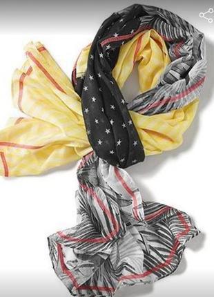 Легкий нежный шарф-снуд, от tcm tchibo, германия.