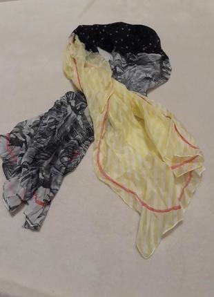 Легкий нежный шарф-снуд, от tcm tchibo, германия.2 фото