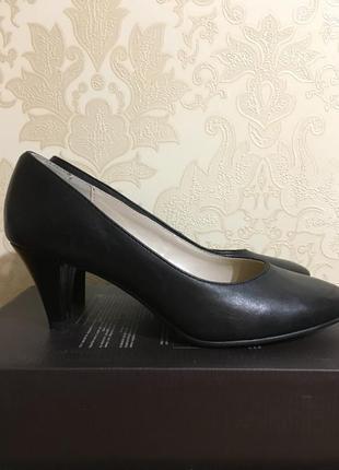 Чёрные классические туфли 🖤