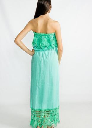 Летнее платье в пол (длинное, вечернее платье) «berit»