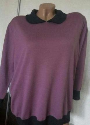 Теплая шерстяная кофта свитер boden