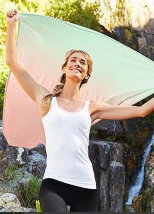 Охлаждающий парео платок-шаль, tcm tchibo (германия) размер 125*115 см