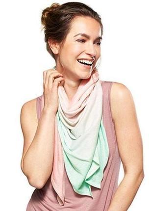 Охлаждающий парео платок-шаль, tcm tchibo (германия) размер 125*115 см2