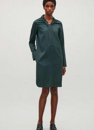 Шерстяное платье cos