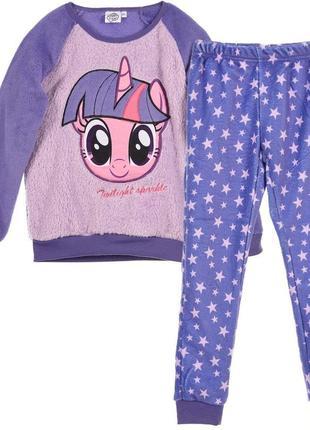 Плюшевая пижамка детская пижама для девочек