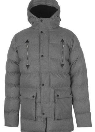 Мужской пуховик зимняя куртка парка fabric англия