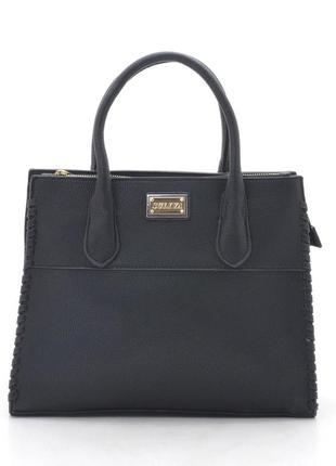 Женская деловая сумка из плотного кожзама 133