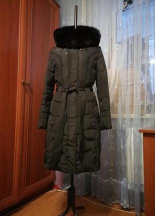 Пальто-пуховик s (укр.размер 42/44)