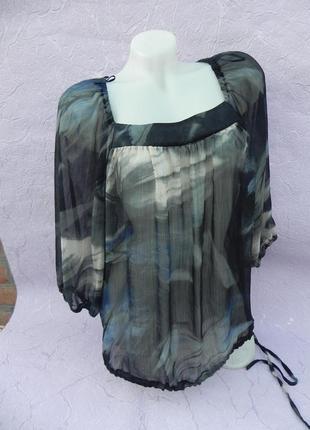 Блуза шифон wallis
