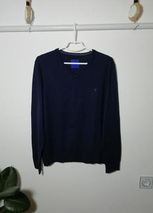 Кофта пуловер 90%хлопок 10%кашемир joop