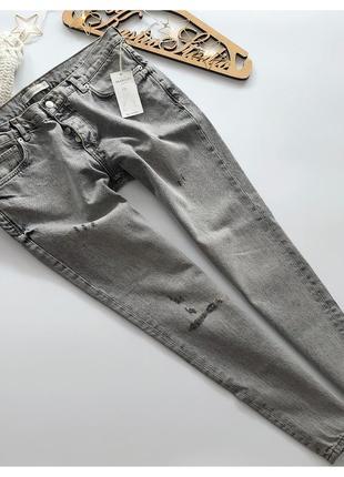 Шикарные новые джинсы бойфренд mango рр л