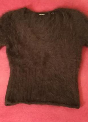 Свитер express из натуральной шерсти ангорского кролика