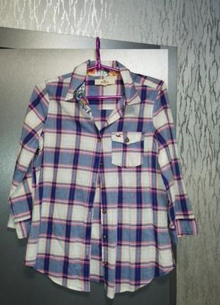 Шикарная хлопковая рубашка