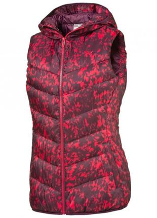 Жилет puma fun t48 hooded padded vest р. s оригинал распродажа