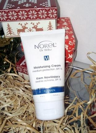 Norel увлажняющий крем spf 15 для мужчин