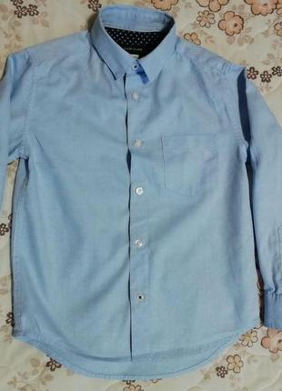 Рубашка на мальчика river island 4-5лет индия