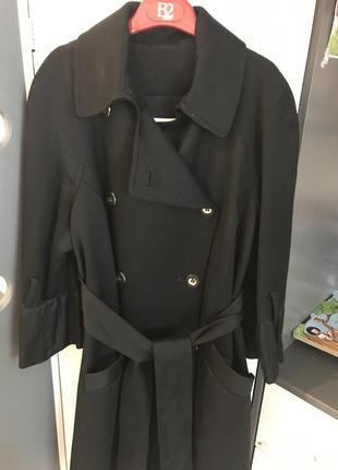 Шикарное пальто с бантиком