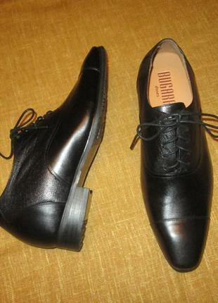 Новые туфли bugarri лифт обувь увеличивает рост +7 см. кожаные оксфорды