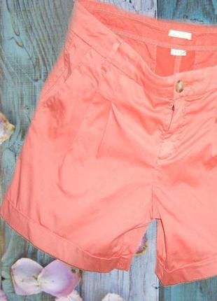 🐳🐬летние женские шорты нежно лососевого цвета  esprit 🐬🐳🐬