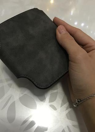 Кошелек baellerry forever mini баеллери форевер мини темно серый5 фото