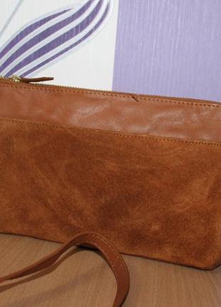 Стильная кожаная сумка warehourse