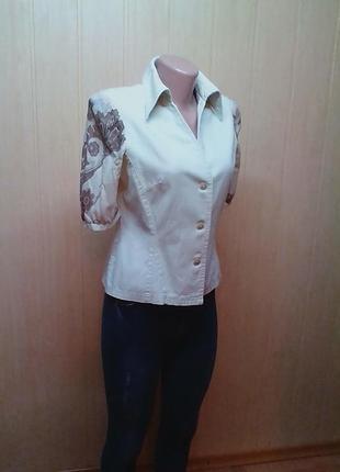 Кофта,блузка,блуза,футболка,100%коттон,от оригинального бренда andre.44-46р.