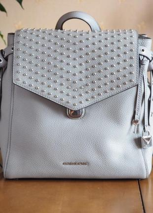 Кожаный рюкзак michael kors bristol medium backpack