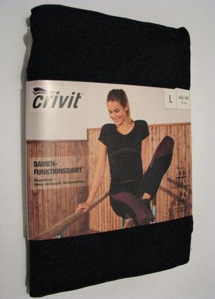 Функциональная женская спортивная футболка crivit германия