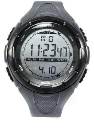 Мужская спортивная часы skmei 1025 black