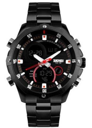 Мужские наручные часы skmei 1146 black