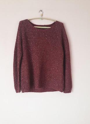 Стильный свитер с пайетками!!!