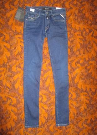 Узкие джинсы фирмы replay 30 р