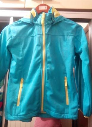 Спортивная курточка для девочки из германии pocopiano на рост 140-158