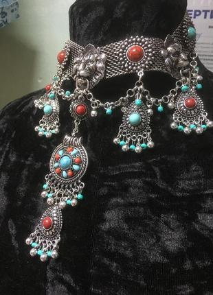 Ожерелье в стиле бохо