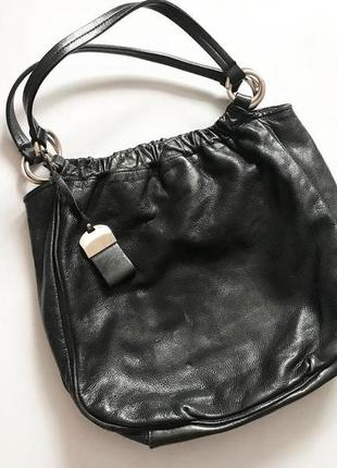 Большая кожаная сумка италия francesco biasia