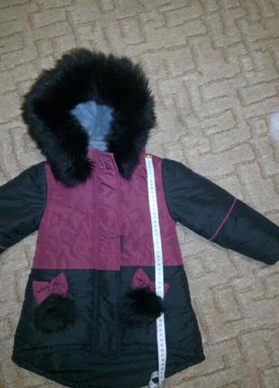 Суперский зимний костюм для девочки